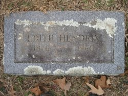 Edith W <i>Youtsey</i> Hendrix