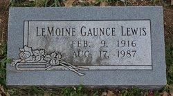 LeMoine Gaunce Lewis