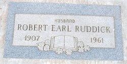 Robert Earl Ruddick