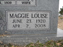 Maggie Louise Butler