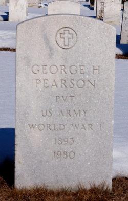 George H Pearson