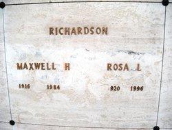Rosa Lee <i>Gary Abel</i> Richardson