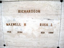 Maxwell Harry Richardson