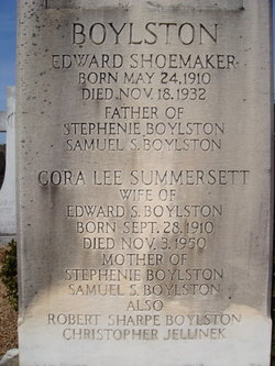Cora Lee <i>Summeratt</i> Boylston