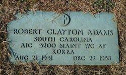 Robert Clayton Adams