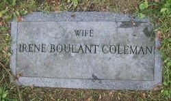 Irene <i>Boulant</i> Coleman