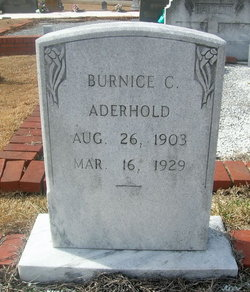 Burnice C. Aderhold