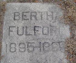 Bertha Fulford