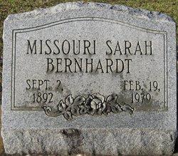 Missouri Sarah <i>Chesser</i> Bernhardt