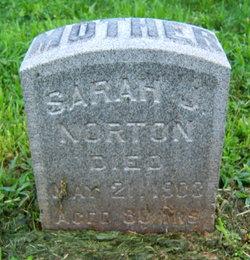 Sarah Jane <i>Alger</i> Norton