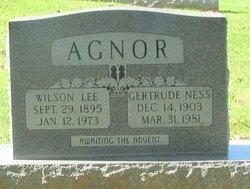 Gertrude <i>Ness</i> Agnor