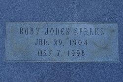 Ruby <i>Jones</i> Sparks
