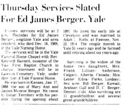 Edward James Berger