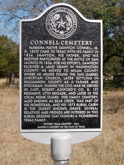 Connell Cemetery at Bear Creek