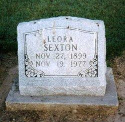 Leora <i>Hicks</i> Sexton