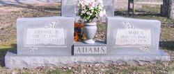 Johnnie D Adams