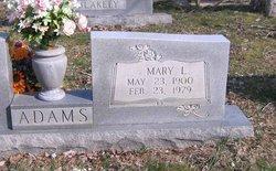 Lillian Mary <i>Kelly</i> Adams