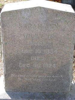 Sarah Ann <i>Hoxey</i> Williams