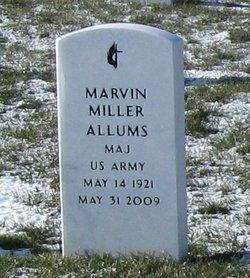 Maj Marvin Miller Allums