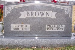 Gertie Ray <i>Curry</i> Brown