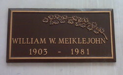 William Wallace Meiklejohn