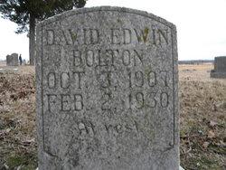 David Edwin Bolton