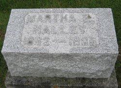 Martha E Halley
