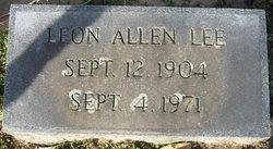 Leon Allen Lee