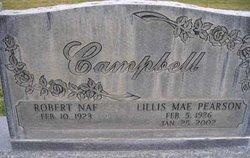 Lillis Mae <i>Pearson</i> Campbell