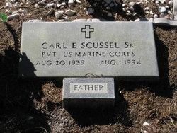 Pvt Carl Eugene Scussel