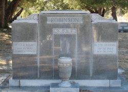 Elizabeth Betty <i>Scussel</i> Robinson