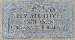 Mary Jane <i>Johnsen</i> Anderson