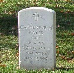 Capt Catherine H Hayes