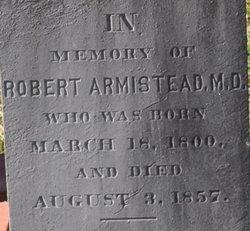 Dr Robert Armistead