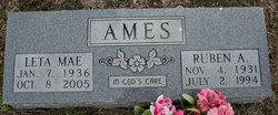 Leta Mae <i>Hillhouse</i> Ames