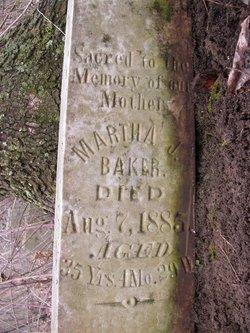 Martha J. <i>Matheny</i> Baker