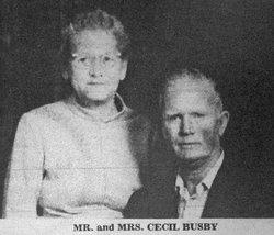 Myrtle Lorene <i>Frantz</i> Busby