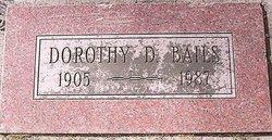 Dorothy Darlene <i>Kilpatrick</i> Bails