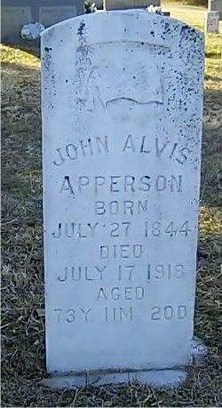 John Alvis Abb Apperson