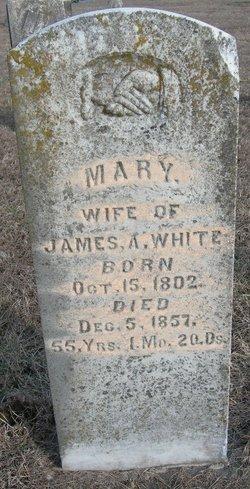 Mary <i>Forgey</i> White