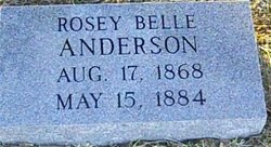 Rosey Bell Anderson