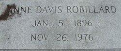 Anne <i>Davis</i> Robillard
