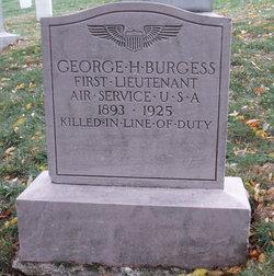 Lieut George Howell Burgess