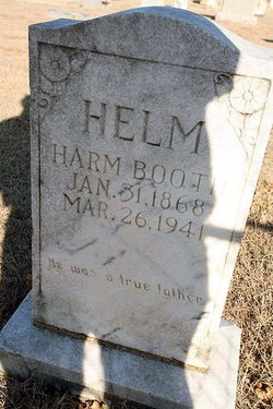 Harm Booth Helm