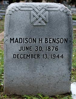 Madison H. Benson