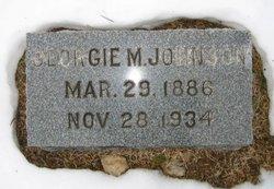Georgie M. Johnson