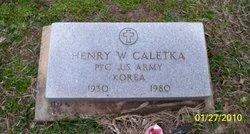 Henry Willie Caletka