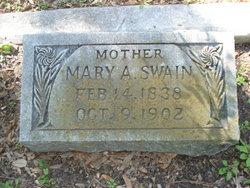 Mary A. <i>Terry</i> Swain