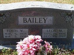 Edith Bell <i>Wallis</i> Bailey