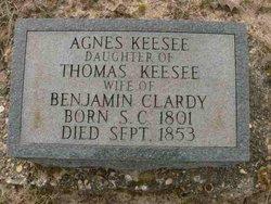 Agnes <i>Keesee</i> Clardy